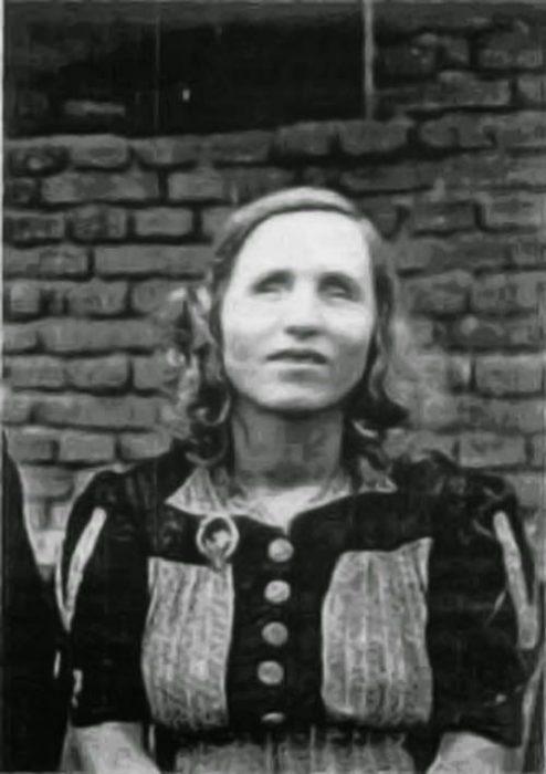 Baba Vanga joven