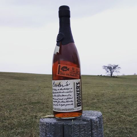 """Bookers 2017-1 """"Tommy's Batch"""" Bourbon"""