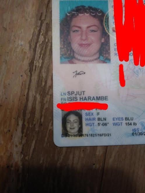 Identificación de una chica