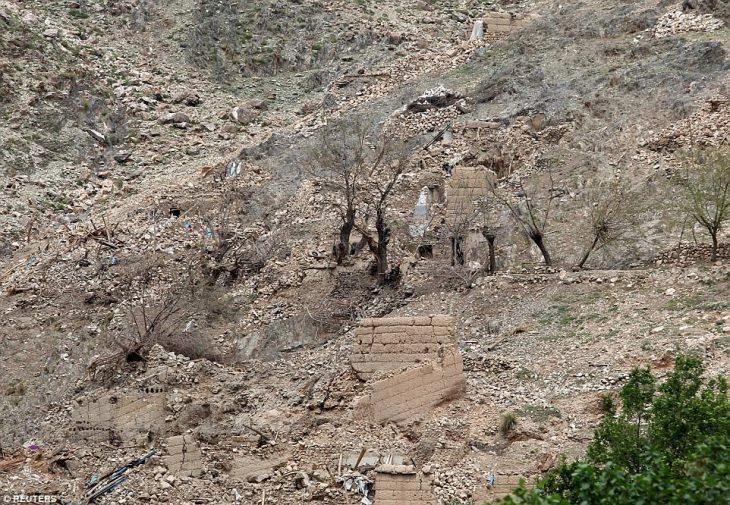 Zona de destrucción de la Madre de todas las bombas 2