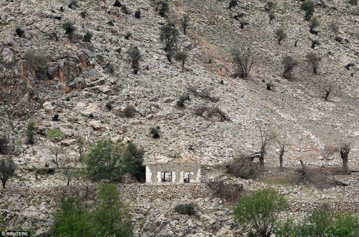 Zona de destrucción de la Madre de todas las bombas
