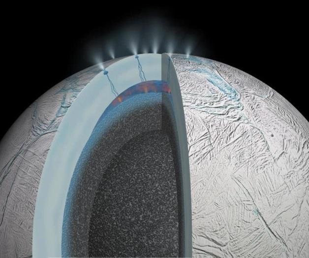 Encelado vida extraterrestre