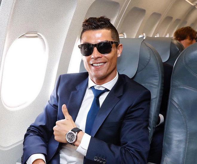 ronaldo avion