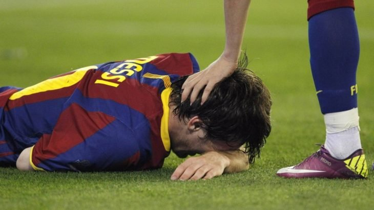 Messi Llora barcelona vs psg 2017
