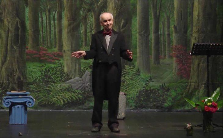 Giovanni Mongiano en escena