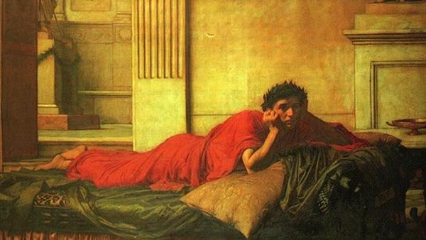 romano acostado