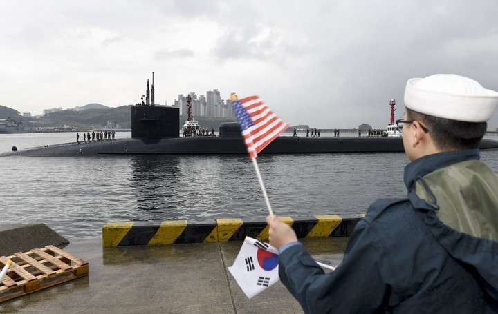 corea submarino