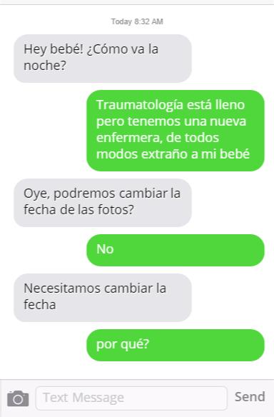 wasap conversacion