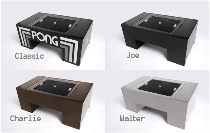 mesas pong