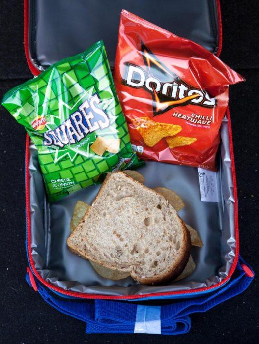 dotoritos para el almuerzo