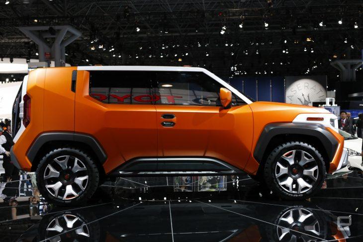 Toyota FT-4X Concept lado