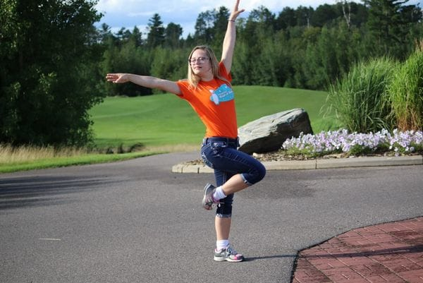 Bailarina en la calle