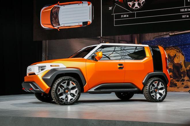 Toyota FT-4X Concept completa