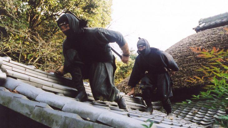 Ninjas en el tejado