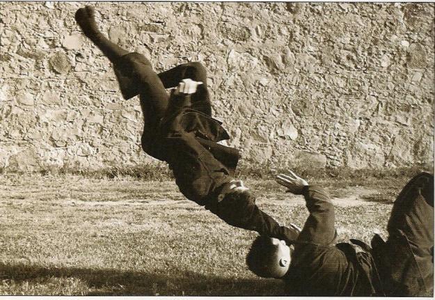 Ninjas entrenando