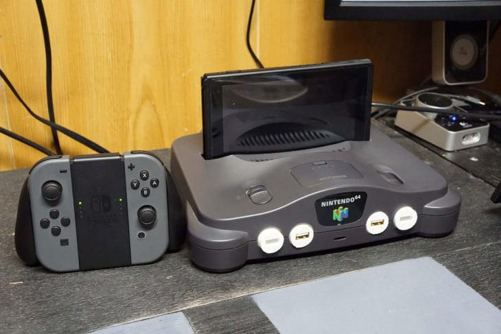 Nintendo 64 adaptado a Switch