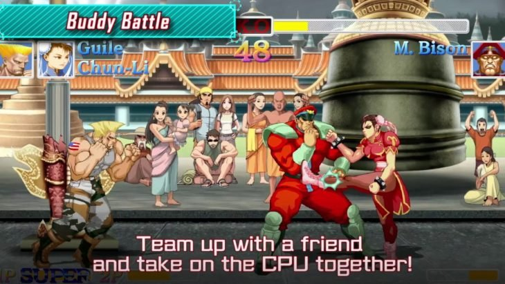 Escena de Street Fighter