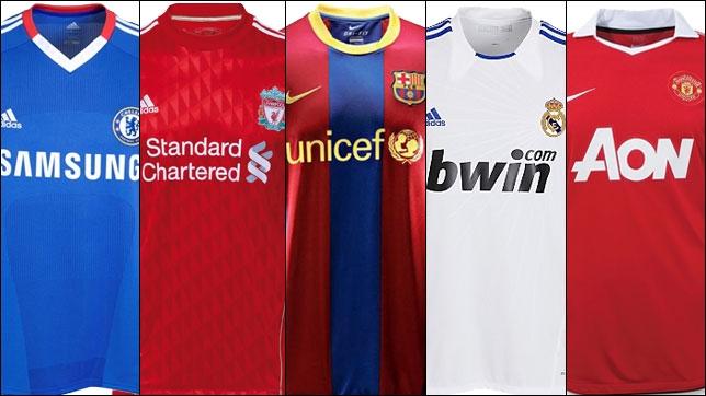 Publicidad en camisetas de futbol