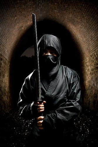 Ninja con espada