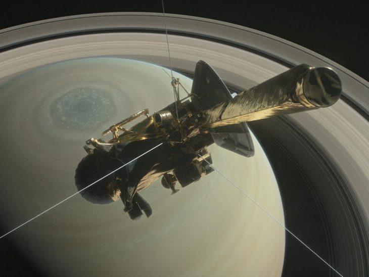 Cassini Saturno vida extraterrestre