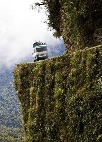 Camino a los Yungas Bolivia