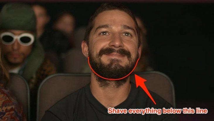 Shia LaBeouf barba 2