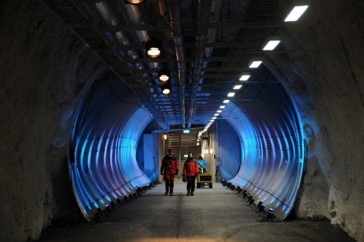Túnel en Svalbard