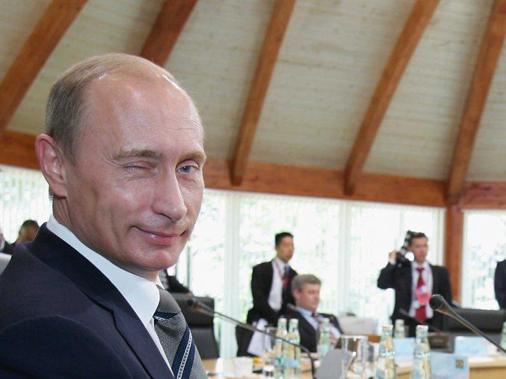Putin guiña el ojo