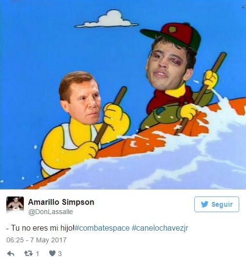 Memes Canelo Chavez Jr