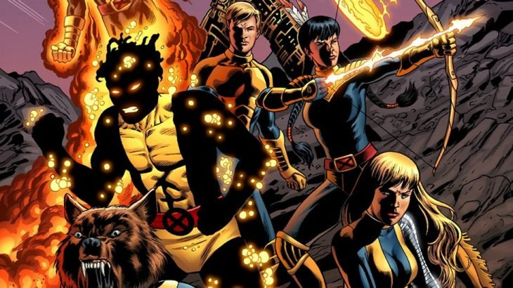 New Mutants ,arvel spin-off x-men