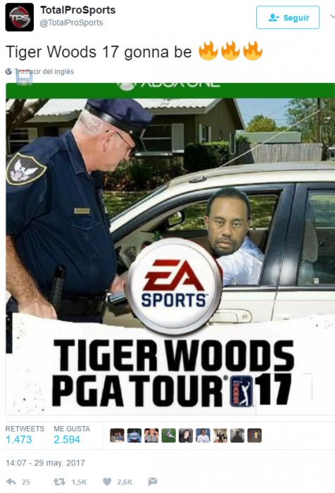 tiger woods meme
