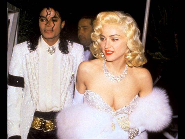 Madonna y Michael-Jackson