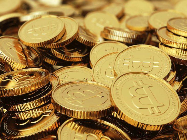 Montones de bitcoins