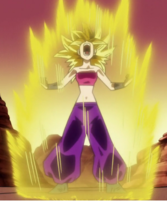 Caulifla en Dragon Ball Super