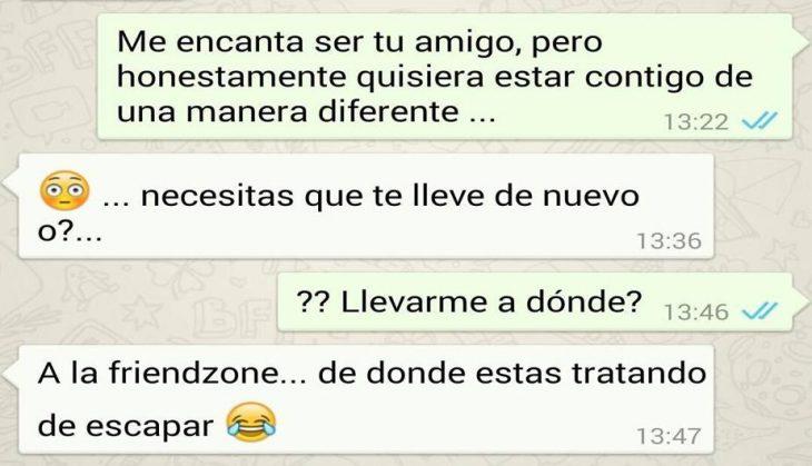 friendzone whatsapp deja te regreso