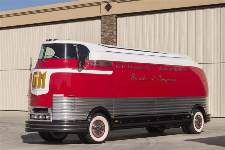 "1950 GM Futurliner ""Parade of Progress"" Bus"