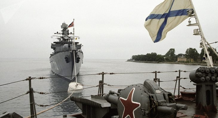 flota del mar báltico