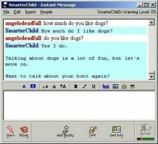 SmarterChild de los primeros chats