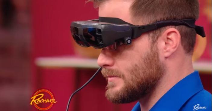 Aparato visual para ciegos