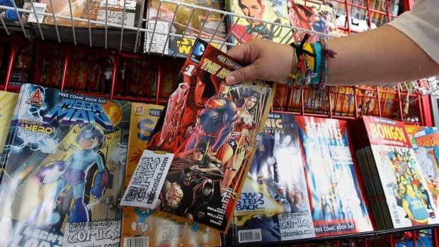 donación de comics