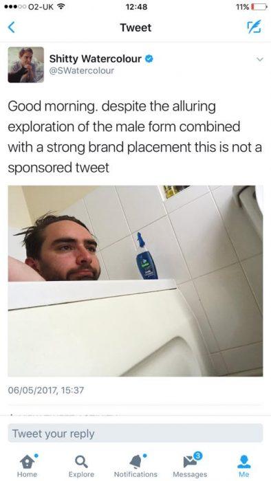 foto tina shampoo