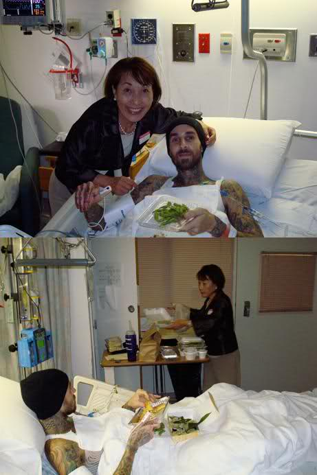Accidente Travis Barker