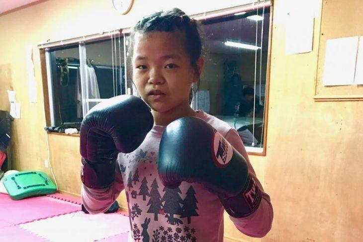 Peleadora de MMA de 12 años