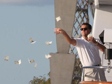 Leo Dicaprio meme dinero