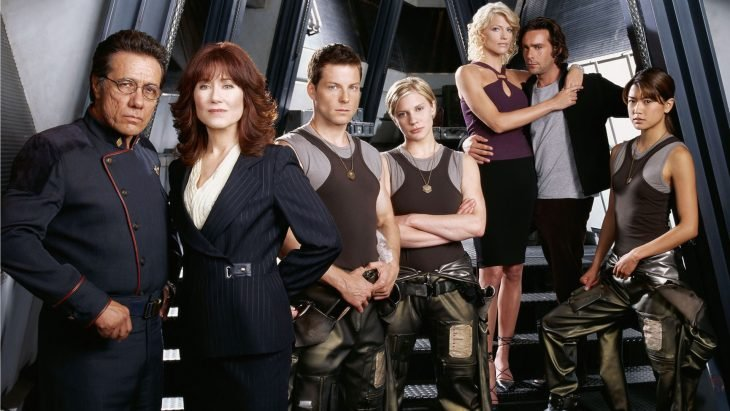 Pyramid Battle star galactica elenco