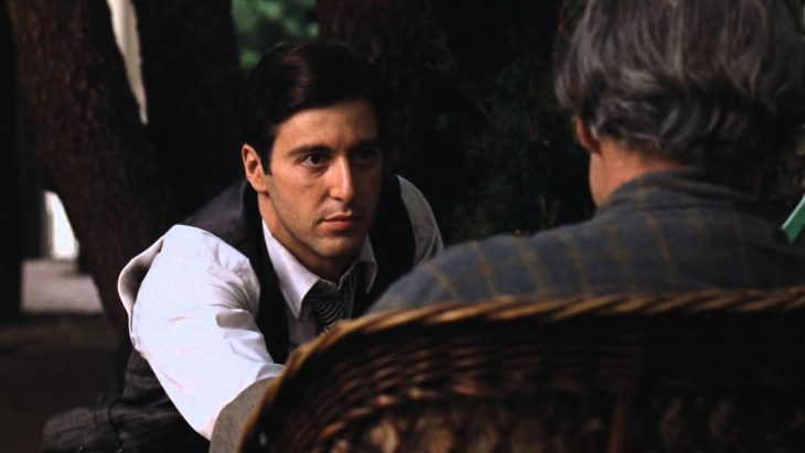 al pacino y marol brando The Godfather