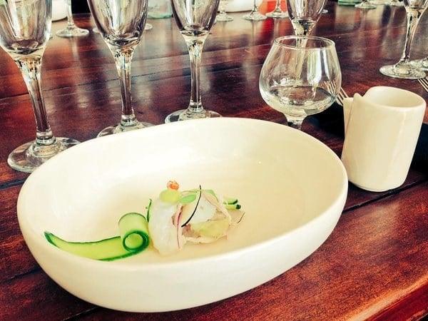tequila blanco con pescado