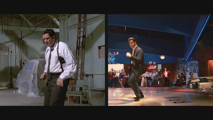 Los hermanos Vega, Tarantino