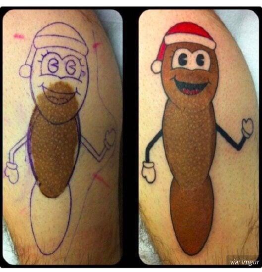 Tatuaje de South Park Señor mojón