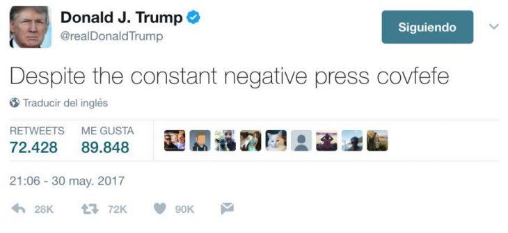 covfefe Donald Trump